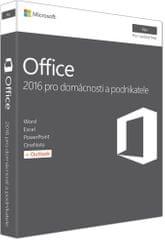 Microsoft Office Mac 2016 pro domácnosti a podnikatele ENG (W6F-00952)