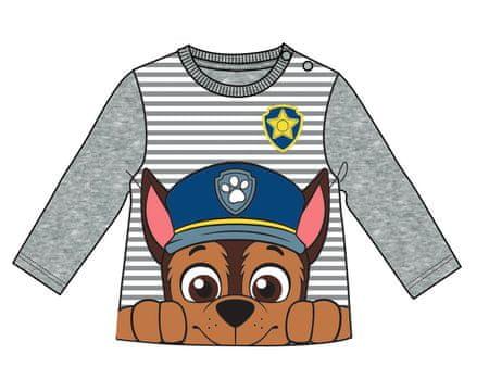 Disney by Arnetta fantovska majica Paw Patrol, 80, siva