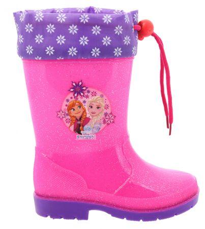 Disney by Arnetta dievčenské čižmy Frozen 24 ružová