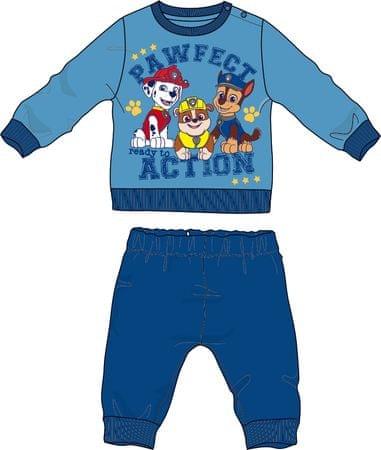 Disney by Arnetta chlapecké pyžamo Paw Patrol 80 modrá