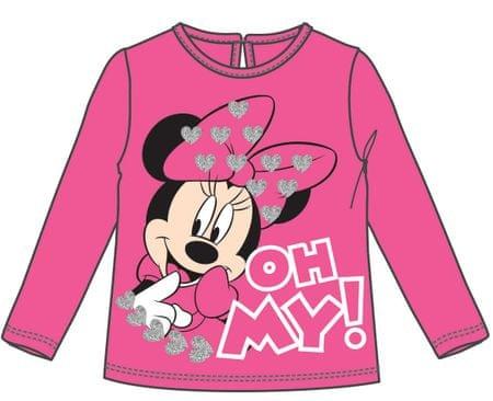 Disney by Arnetta dívčí tričko Minnie 80 růžová