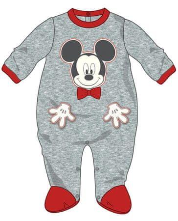 Disney by Arnetta fiú overál Mickey Mouse 68 szürke