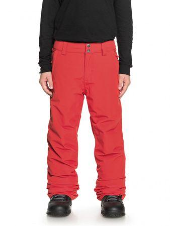 Quiksilver chlapecké kalhoty Estate Pt B L červená