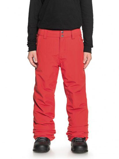 Quiksilver chlapčenské nohavice Estate Pt B L červená