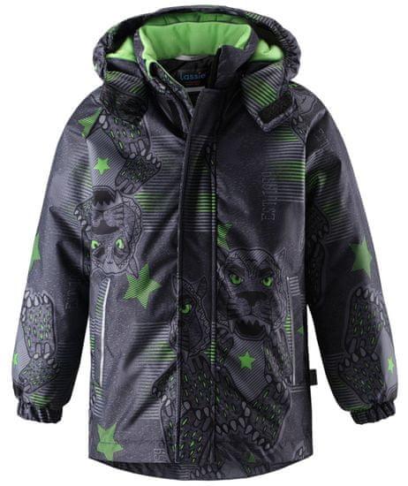 Lassie Zimní bunda šedo-zelená 104