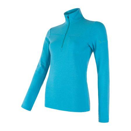 Sensor Merino Extreme ženska majica s dugima rukavima, plava, XL