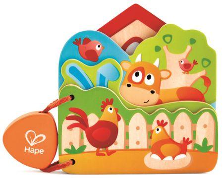 Hape Baby könyv Farm