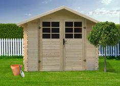 SOLID dřevěný domek SOLID DAVID 340 x 301 cm