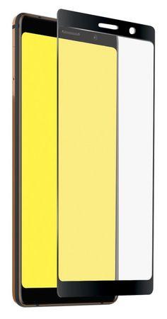 SBS zaščitno steklo Full Cover za Nokia 7 Plus, črno