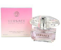 Versace Bright Crystal, dezodorans u spreju, 50 ml