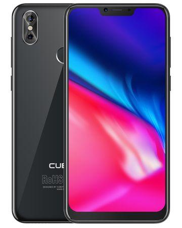 Cubot GSM telefon P20 4GB/64GB, Dual SIM, črn