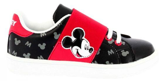 Disney by Arnetta chlapecké tenisky Mickey Mouse 24 černá/červená