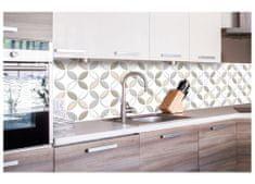 Dimex Fototapeta do kuchyne KI-260-099 Béžové lupene 60 x 260 cm