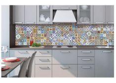 Dimex Fototapeta do kuchyne KI-260-097 Portugalský obklad 60 x 260 cm