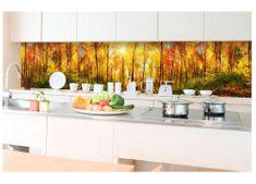 Dimex Fototapeta do kuchyne KI-350-084 Slnečný les 60 x 350 cm