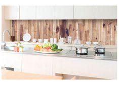 Dimex Fototapeta do kuchyne KI-350-086 Drevený obklad 60 x 350 cm