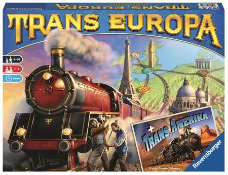 Ravensburger gra planszowa Trans Europa