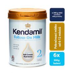 Kendamil 6x pokračovací mléko 2 (900g)