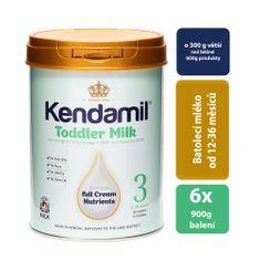 Kendamil 6x batolecí mléko 3 (900g)