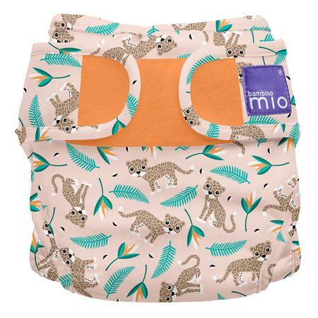 Bambinomio Miosoft plenkové kalhotky Wild Cat 3-9kg