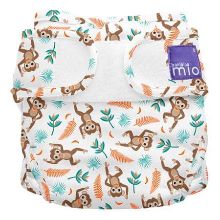 Bambinomio Miosoft plenkové kalhotky Spider Monkey 3-9kg