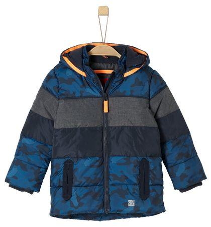 s.Oliver Fiú steppelt téli kabát 104 kék