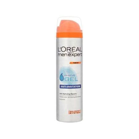 Loreal Paris gel za britje proti razdraženi koži Men Expert Anti-Irritations