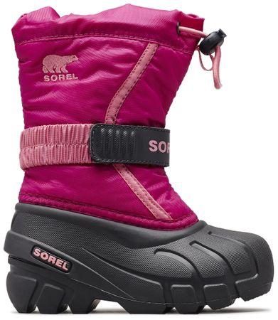 Sorel čizme za djevojčice FLURRY, roza, 28