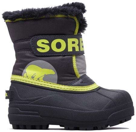 Sorel fantovski škornji SNOW COMMANDER, 25, sivo rumeni