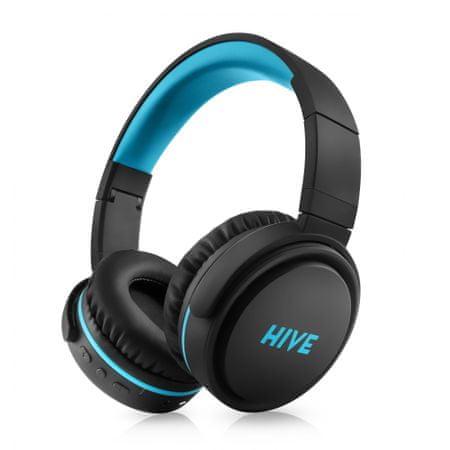Niceboy prijenosne Bluetooth slušalice HIVE XL, crne