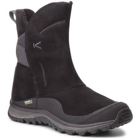 KEEN Winterterra Lea Boot Wp W Black/Raven 40 - zánovní