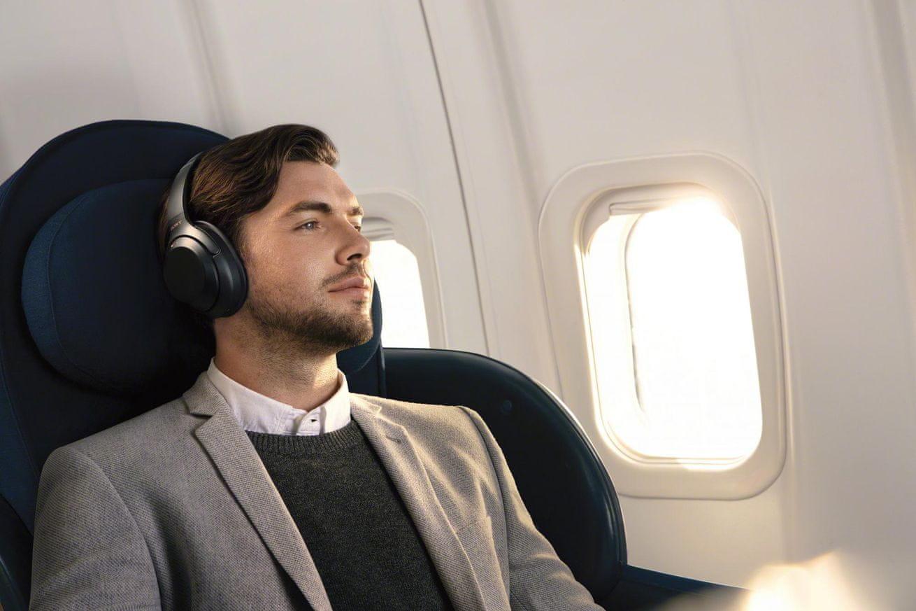 bezdrátová Sluchátka Sony WH-1000xm3 bluetooth aktivní potlačení šumu