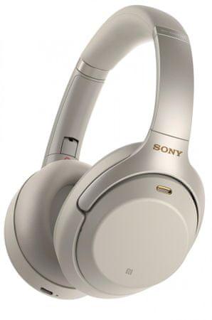 SONY zestaw słuchawkowy WH-1000xm3 srebrny