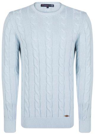 Giorgio Di Mare muški pulover, XXXL, svijetlo plavi