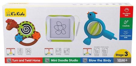K´s Kids 3 fejlődési játék készlet - 3. fokozat