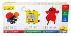 K´s Kids Sada 3 vývojových hračiek - stupeň 1