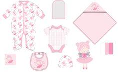 Cangurino zestaw ubrań dla niemowląt