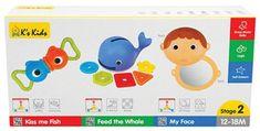K´s Kids Sada 3 vývojových hračiek - stupeň 2