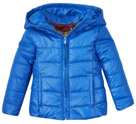 Garnamama składana kurtka dziecięca 92 - 98 niebieska