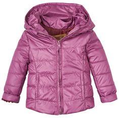 Garnamama Dívčí sbalitelná bunda batůžek
