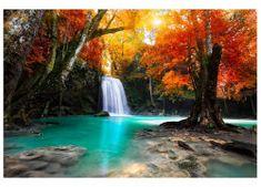 Dimex Fototapeta MS-5-0083 Vodopád v lese 375 x 250 cm