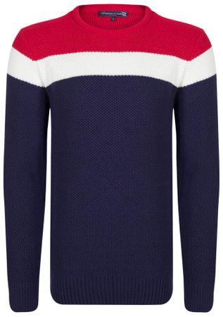 Giorgio Di Mare moški pulover, M, temno moder