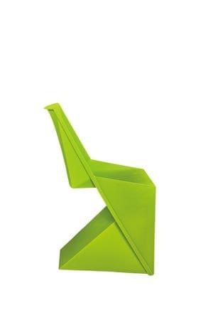 Mørtens Furniture Jídelní židle Faste, zelená
