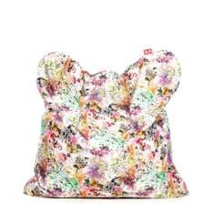 TULI Sedací vak Smart polyester vzor lily