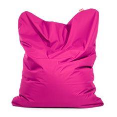 TULI Sedací vak Sofa polyester ružová