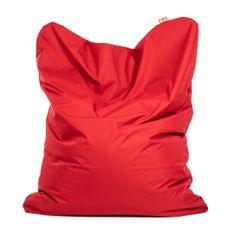 TULI Sedací vak Sofa polyester tmavá červená