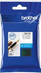 BROTHER tusz LC3617C, cyjan (LC3617C)
