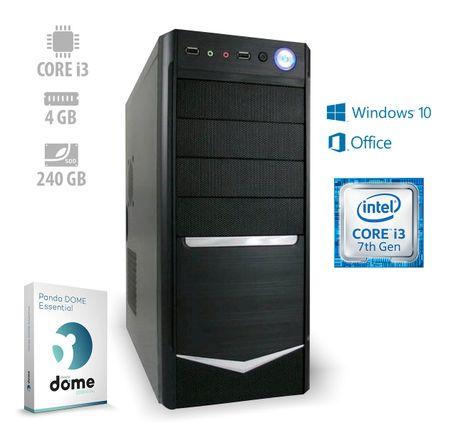 mimovrste=) namizni računalnik Home3 i3-7100/4GB/SSD240GB/W10H + Office 365 Personal (ATPII-CX3-7731)