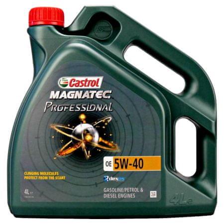 Castrol motorno olje Magnatec Professional OE 5W40, 4 l