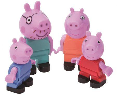 BIG PlayBig BLOXX Peppa Pig figurák család